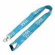 Friendly Lanyard/Green Strap, Made of Bamboo, Measures 1.5 x 90cm, with Screen-printed Logo