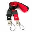 Promotional Lanyards with Connected Buckle, Customized Camera Strap/Tubular/ID