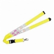 Promotional Lanyards, Made of Eco-friendly Bamboo, with Metal Hook, Safety Break and Soft PVC Logo