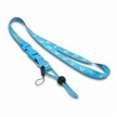 Promotional Mobile Phone Strap Lanyard, Made of Polyester Material, Camera Cell Phone, MP5 Play
