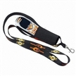 Lanyard with Mobile Phone Holder, Made of Polyester