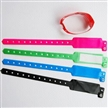 One-way Wrist Straps with PVC or Vinly Material, Offset Printing