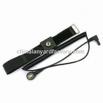 Wrist Strap Coiled Cord for Cleaning Rooms, Customized Specifications are Accepted