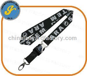 Woven Lanyard with Special Buckle and Metal Hook