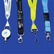 Promotional Woven Lanyards, Available in Various Accessories, with 900mm Length and 10mm Width