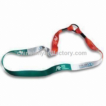 Water Bottle Lanyard with Sublimation Printing, Customized Designs are Welcome