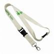 2cm Buckled Lanyard with 100 Eco-friendly Bamboo Fiber Material