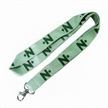 Bamboo Fashionable Lanyard, Made of Eco-friendly Material, Ideal Printed Neck Straps
