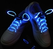 Blue Flashing Light up LED Shoelaces