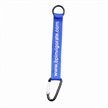 Bottle Lanyard with Carabiner, Made of Polyester