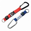 Carabiner Keychains with Compass, Lanyards, Made of Nylon
