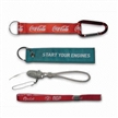 Carabiner Straps,Mobile Phone Straps,Short Lanyards, Made of Polyester