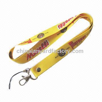Cotton Lanyard, Fancy Finishing, Custom Style Available, Suitable for Promotional Gifts