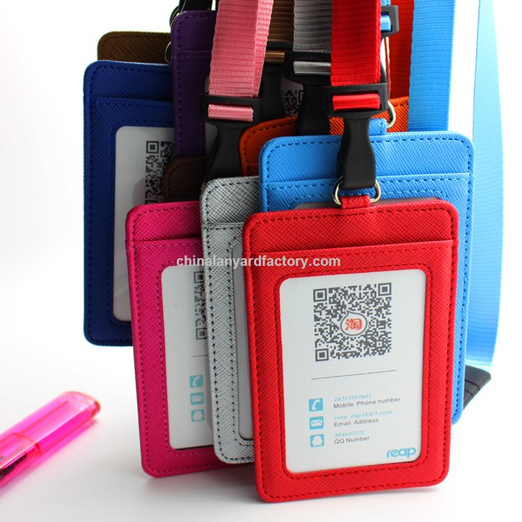 Promotional Id Card Holder With Heat Transfer Printing