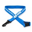 Flat Tubular Lanyard with Swivel Hook