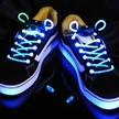 Weatherproof LED Flashing Glowing Custom Logo Printed Shoelaces
