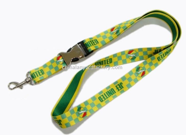 Custom ECO friendly promotional strap whistle lanyard with competitive price