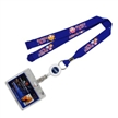 High Quality custom id card holder/ neck strap lanyard