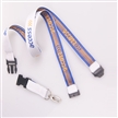Beautiful colour logo printed  Flat Tubular Lanyards